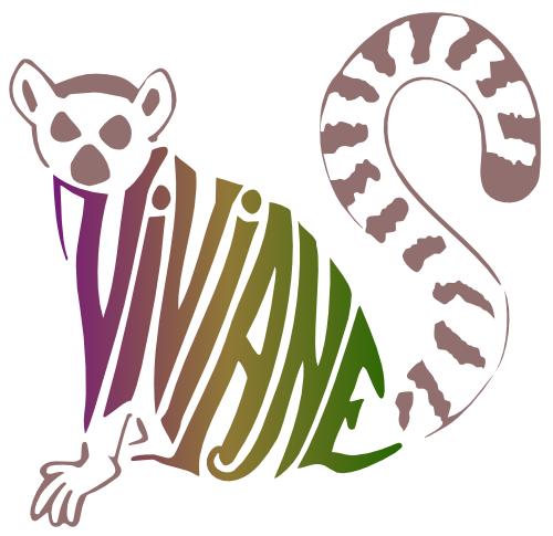 zanimot lémurien  Vivianne