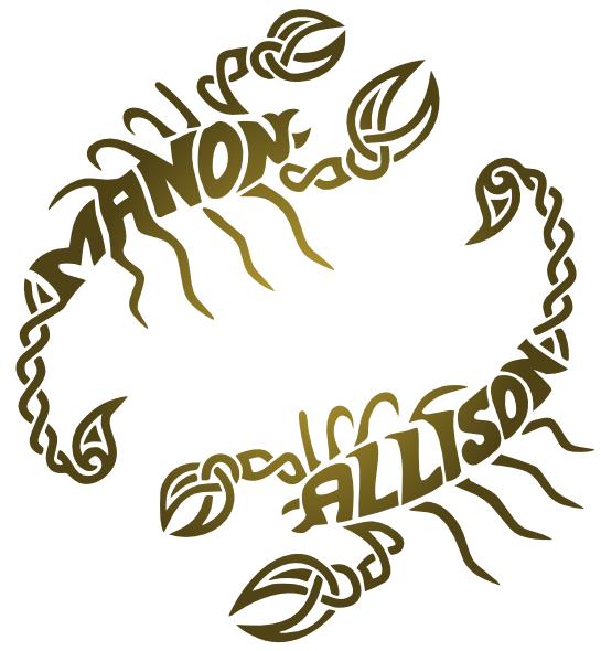 scorpion Manon Allison