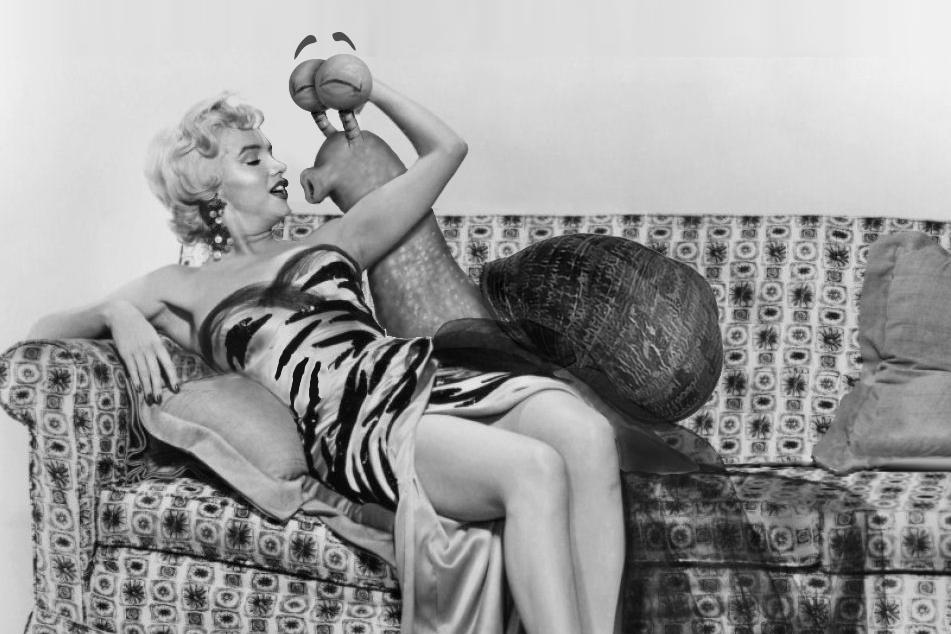 Marilyn et Escargolio