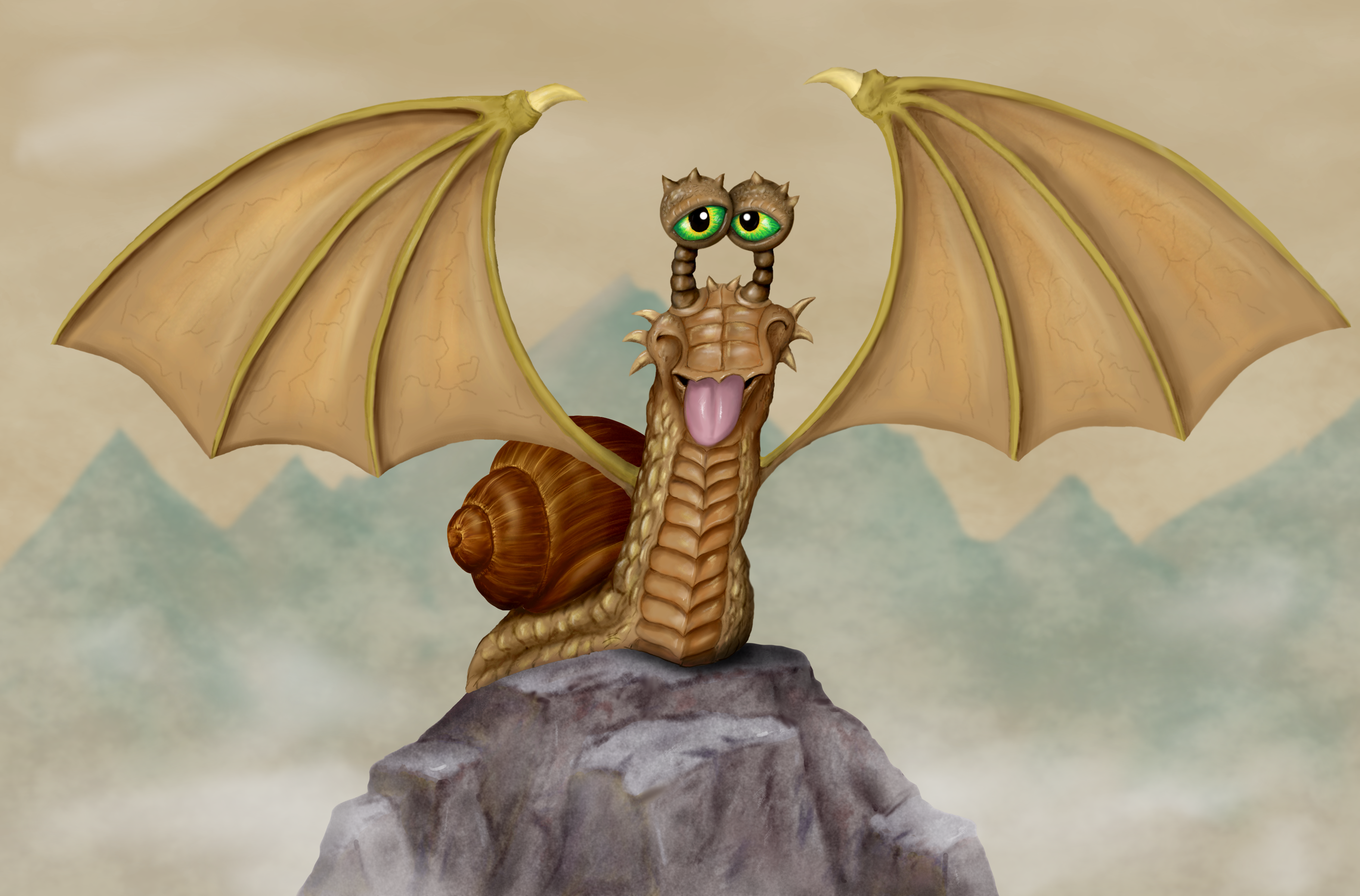 Escargot fantasy