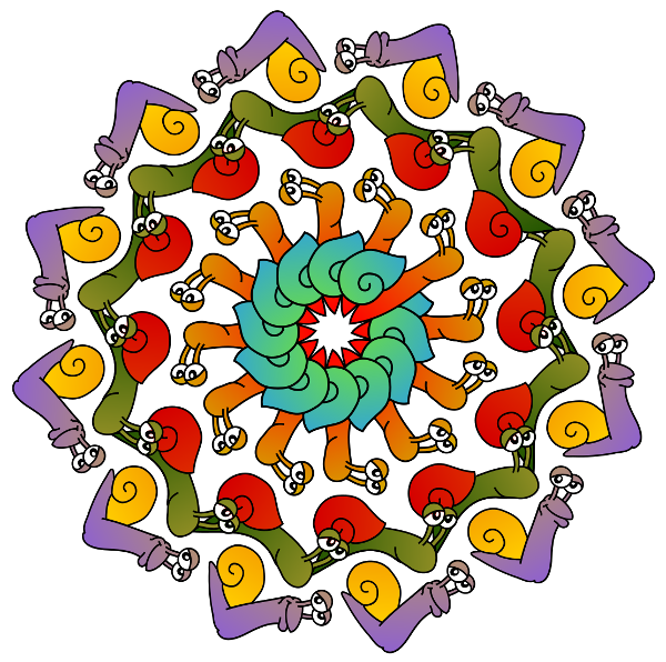 Fleur d'escargots