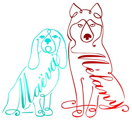 chiens Maëva Mélany