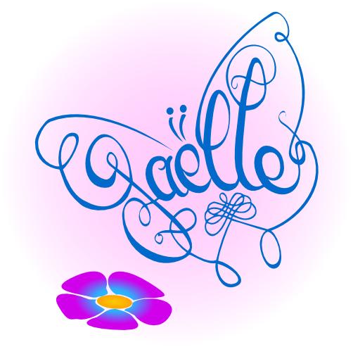 Zani-mot papillon Gaëlle