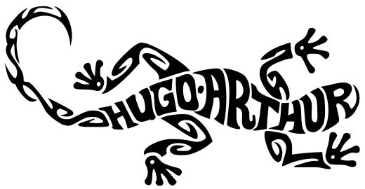 Lézard Hugo & Arthur
