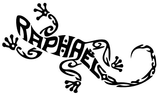 Lézard Raphaël