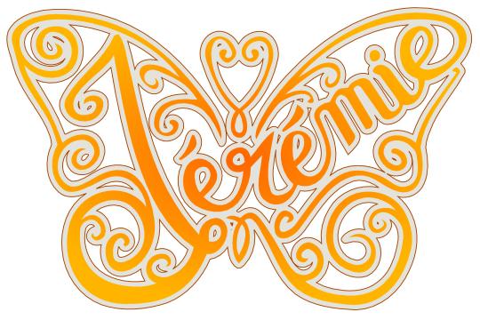 Papillon Jérémie