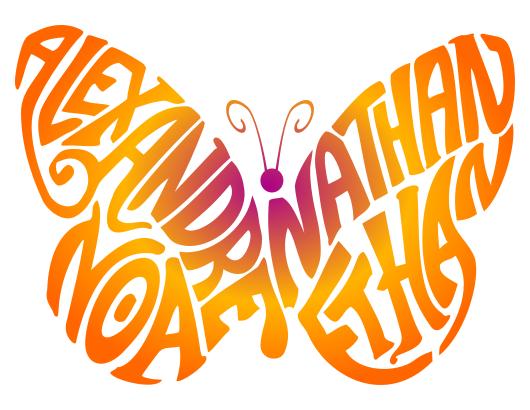 Papillon Alexandre Nathan Noa Ethan