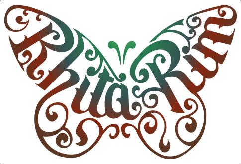 Papillon rhita-rim
