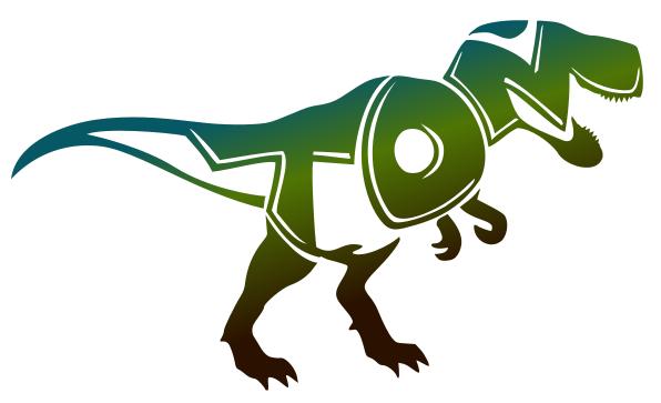Zani-mot T-rex Tom