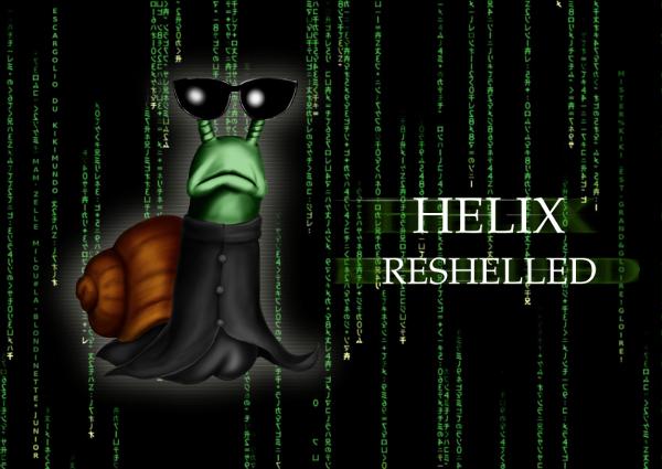 HELIX RESHELLED