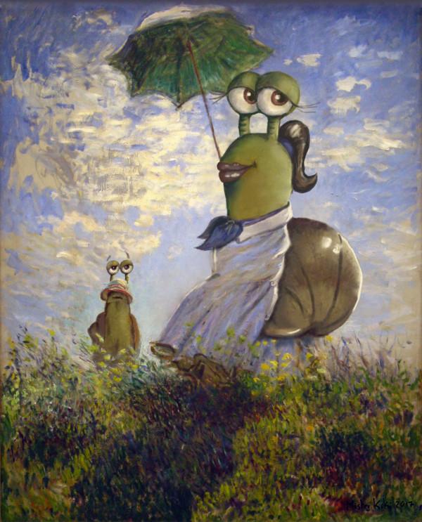 tableau inspiré par Monet
