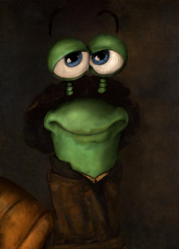 Autoportrait façon Rembrandt