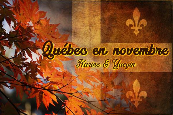 Logo Quebec en novembre